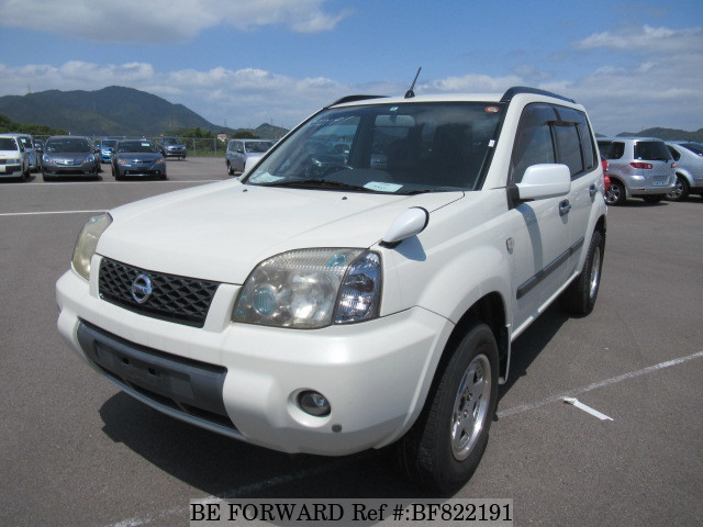 A used 2004 Nissan X-Trail from online used car exporter BE FORWARD.
