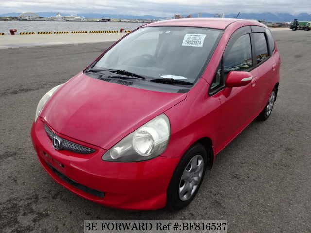 A used 2006 Honda Fit from online used Japanese cars exporter BE FORWARD.