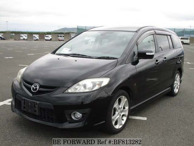 A used 2008 Mazda Premacy from online used Japanese cars exporter BE FORWARD.