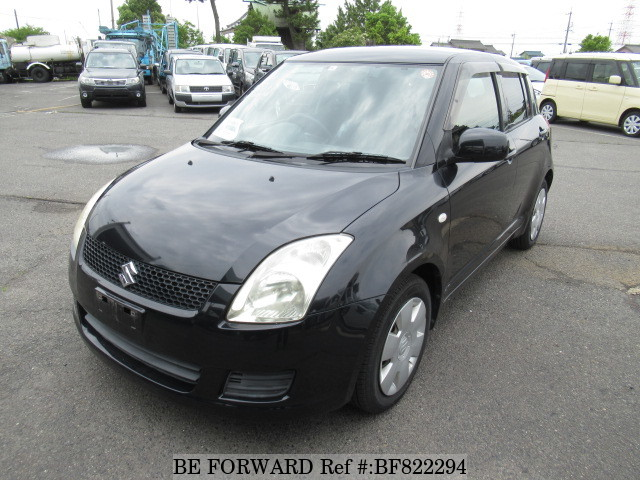 A used 2008 Suzuki Swift from online used car exporter BE FORWARD.