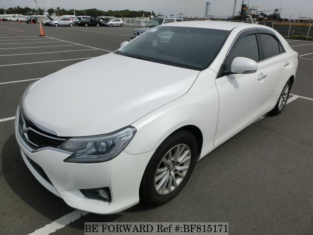 A used 2013 Toyota Mark X from online used car exporter BE FORWARD.