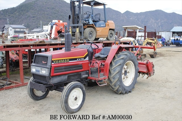 A used Yanmar FX26 from online used car exporter BE FORWARD.