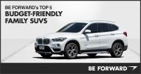 BE FORWARD's Top 5 Budget-Friendly Family SUVs