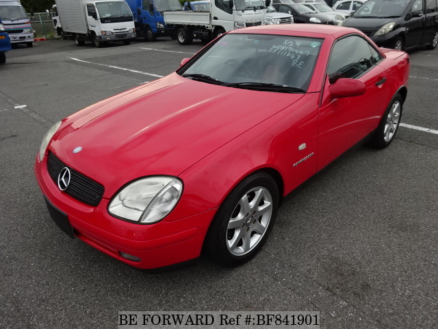 A used 1999 Mercedes-Benz SLK from online used car exporter BE FORWARD.