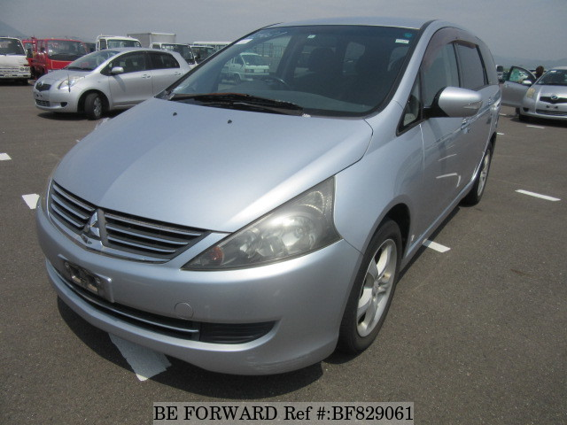 A used 2006 Mitsubishi Grandis from online used car exporter BE FORWARD.
