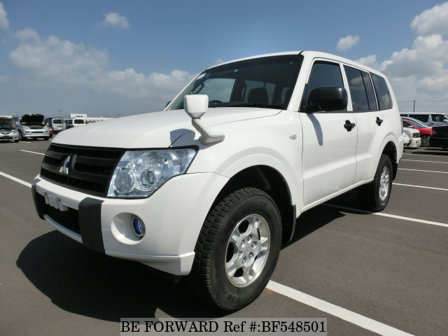 A used 2010 Mitsubishi Pajero from online used car exporter BE FORWARD.