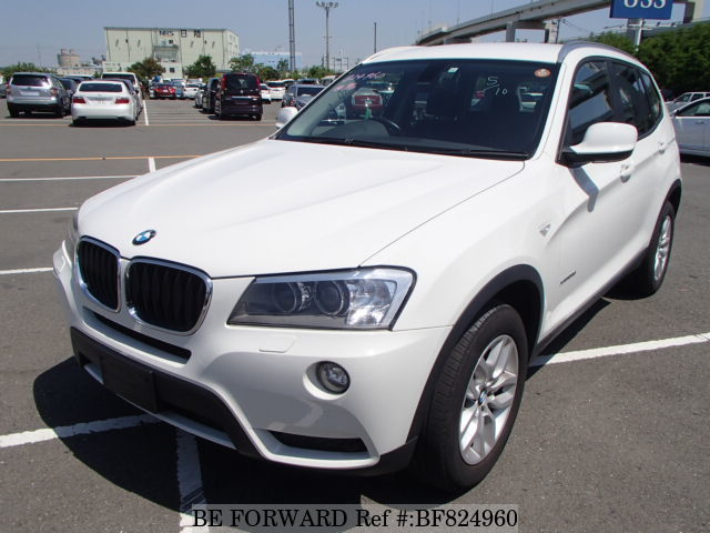 A used 2012 BMW X3 from online used car exporter BE FORWARD.