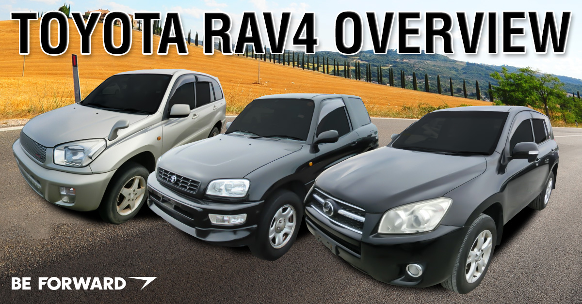 Toyota RAV4 generation differences