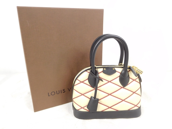 LOUIS VUITTON Vuitton Maltese Alma BB 2 WAY beige handbag M50006 Y1885766