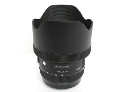SIGMA 12-24 m F 4 DG HSM wide angle zoom lens for EF mount cannon T2281556 (1,300 USD)