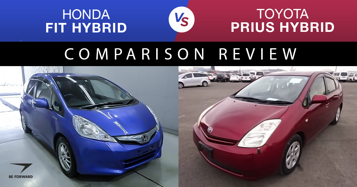 Toyota Prius Vs Honda Fit Top Hybrid