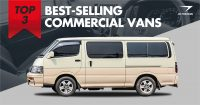 Our Top 3 Best-Selling Commercial Vans