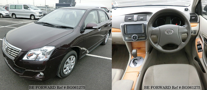 interior and exterior of a cheap used toyota premio