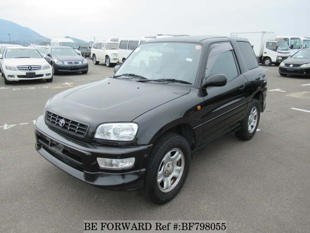A used 1998 Toyota RAV4 from online used car exporter BE FORWARD.