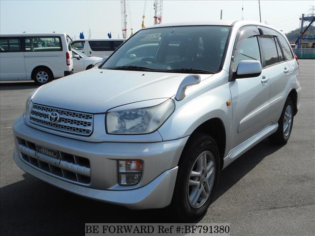 A used 2001 Toyota RAV4 from online used car exporter BE FORWARD.