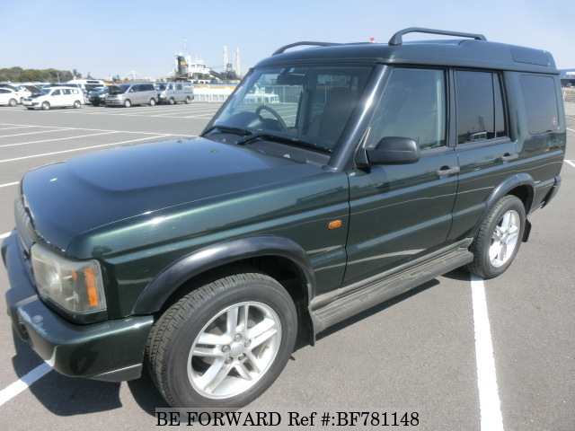 A used 2002 Land Rover Discovery from online used car exporter BE FORWARD.