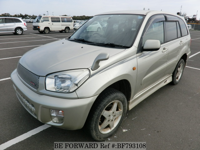 A used 2002 Toyota RAV4 from online used car exporter BE FORWARD.