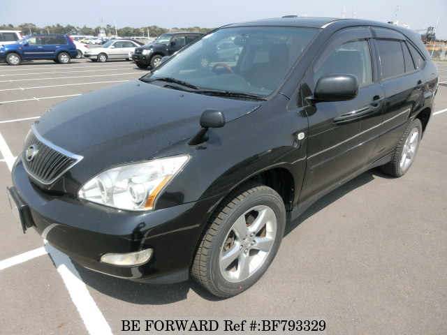 A used 2003 Toyota Harrier from online used car exporter BE FORWARD.