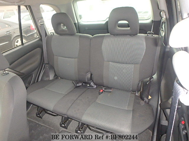 Interior of a used 2003 Toyota RAV4 from online used car exporter BE FORWARD.