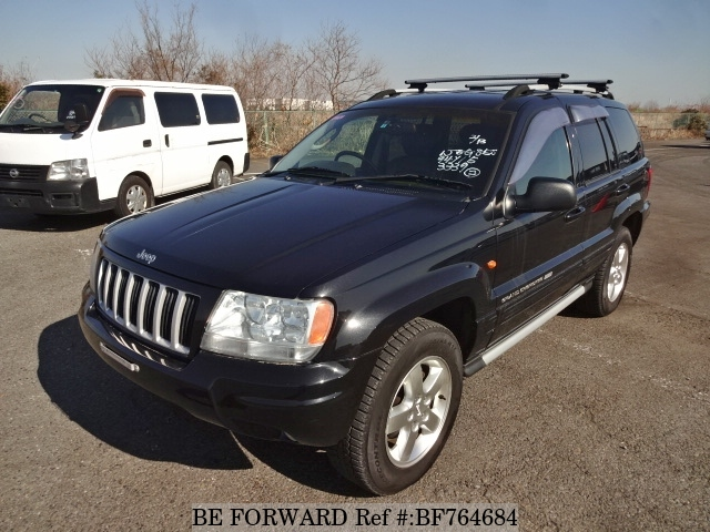A used 2004 Jeep Grand Cherokee from online used car exporter BE FORWARD.