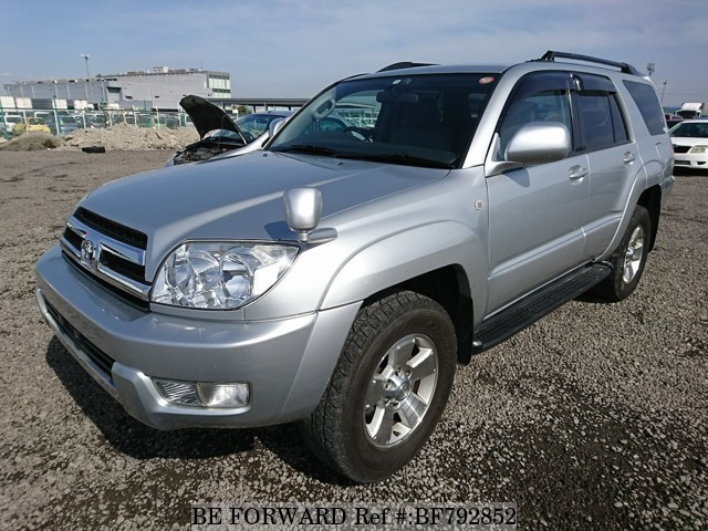 A used 2004 Toyota Hilux Surf from online used car exporter BE FORWARD.