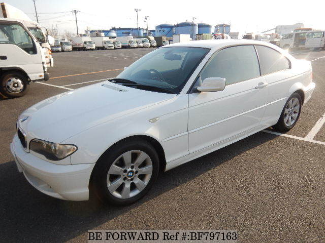 A used 2006 BMW 3-Series coupe from online used Japanese cars exporter BE FORWARD.
