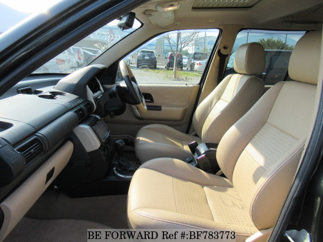 The interior of a used 2006 Land Rover Freelander from online used car exporter BE FORWARD.