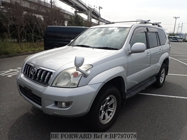 A used 2006 Toyota Land Cruiser Prado from online used car exporter BE FORWARD.