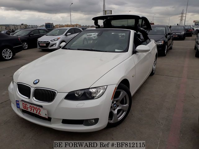 A used 2007 BMW 3-Series convertible from online used car exporter BE FORWARD.