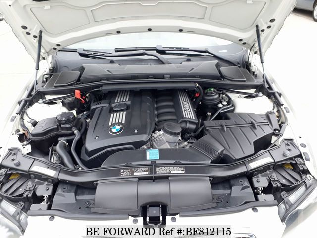 A used 2007 BMW 3-Series convertible engine from online used car exporter BE FORWARD.