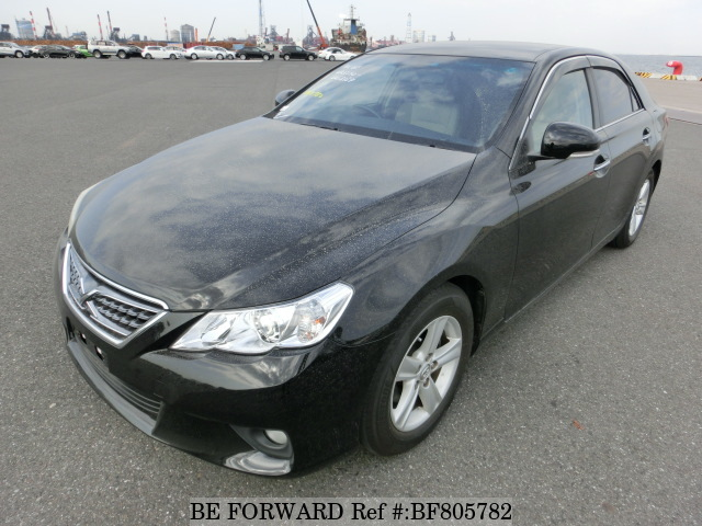 A used 2010 Toyota Mark X from online used car exporter BE FORWARD.