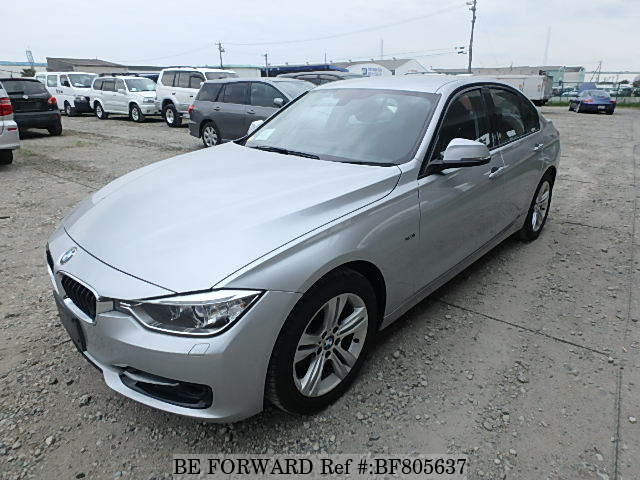 A used 2012 BMW 3-Series sedan from online used Japanese car exporter BE FORWARD.