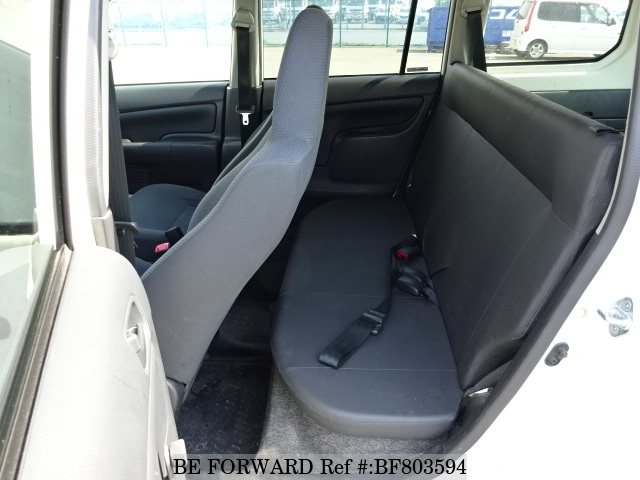 The interior of a used 2013 Toyota Probox Van from online used car exporter BE FORWARD.
