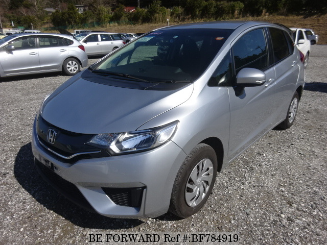 A used 2015 Honda Fit from online used car exporter BE FORWARD.