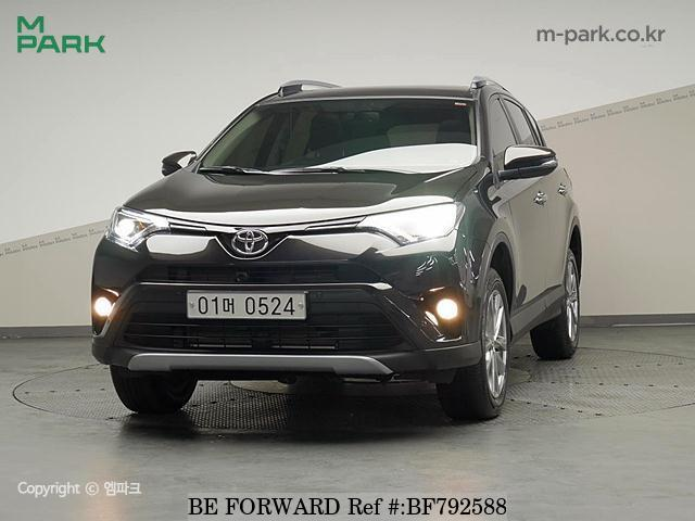 A used 2016 Toyota RAV4 from online used car exporter BE FORWARD.