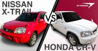 Nissan X-Trail vs Honda CR-V Features and Used Price Comparison