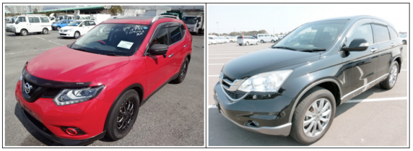 Nissan X-trail Vs. Honda CR-V