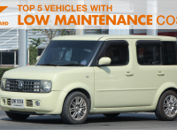 Top 5 Vehicles With Low Maintenance Costs