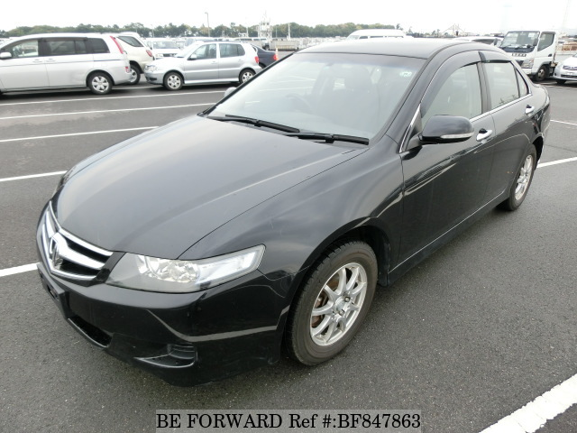 A used 2007 Honda Accord from online used car exporter BE FORWARD.