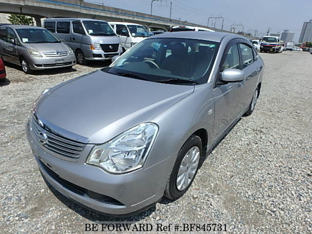 A used 2007 Nissan Bluebird Sylphy from online used car exporter BE FORWARD.