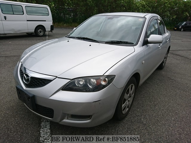 A used 2009 Mazda Axela from online used car exporter BE FORWARD.