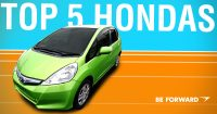Our Top 5 Recommended Honda Cars