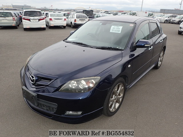 A used 2008 Mazda Axela Sport from online used car exporter BE FORWARD.