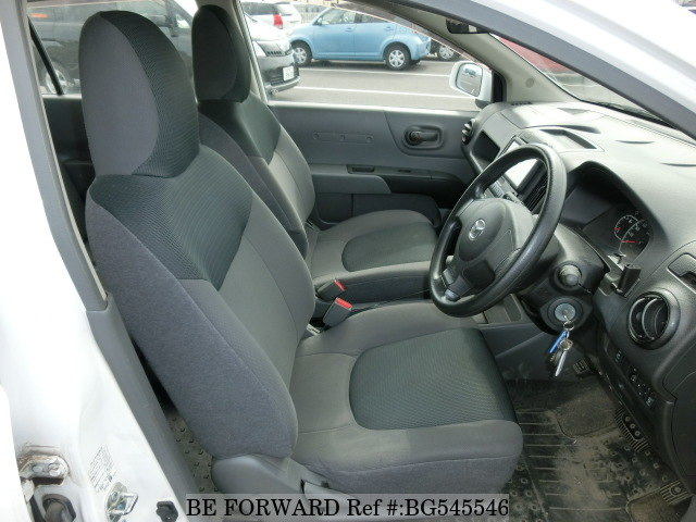 The interior of a used 2014 Mazda Familia Van from online used car exporter BE FORWARD.