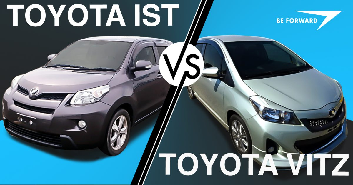 toyota ist vs toyota vitz subcompact hatchback comparison. Black Bedroom Furniture Sets. Home Design Ideas