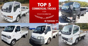 top 5 business commercial trucks in africa from BE FORWARD