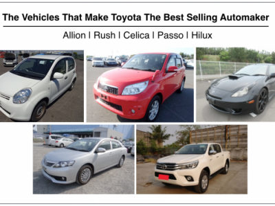 The Vehicles That Make Toyota The Best Selling Automaker