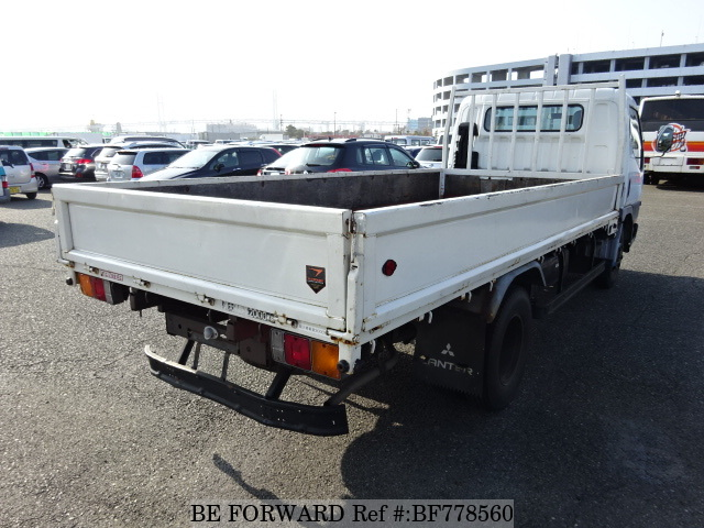 The rear of a used 1997 Mitsubishi Canter from online used car exporter BE FORWARD.