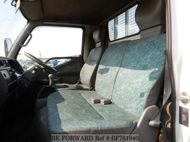 The interior of a used 1999 Mitsubishi Canter from online used car exporter BE FORWARD.