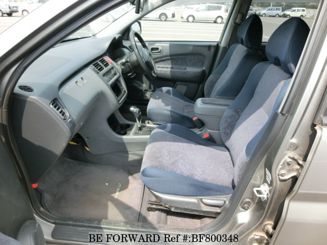 The interior of a used 2000 Honda HR-V from online used car exporter BE FORWARD.